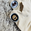 Thumbnail: Doggie Trainer Socks ~ Cream