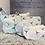 Thumbnail: Bird Print Set of Three Cosmetic Bags