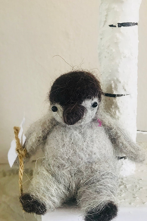 'Polly' - Felt Penguin