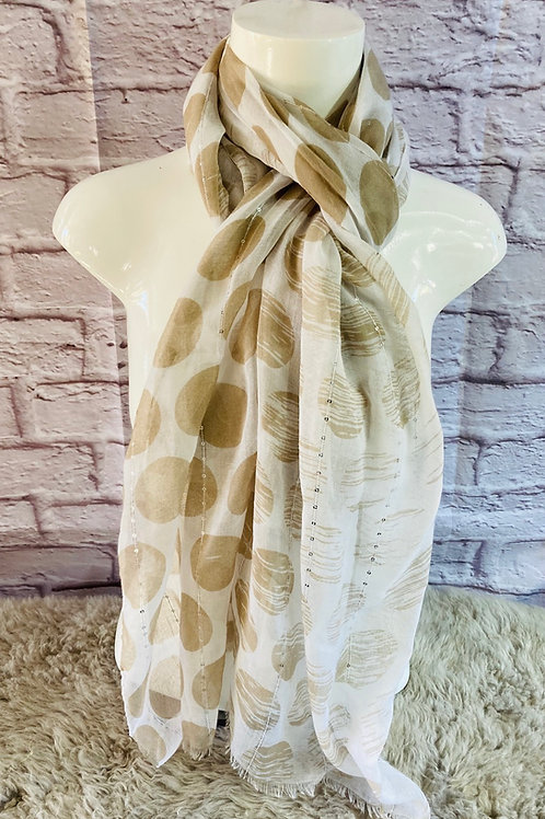 Dots and Sequins Scarf