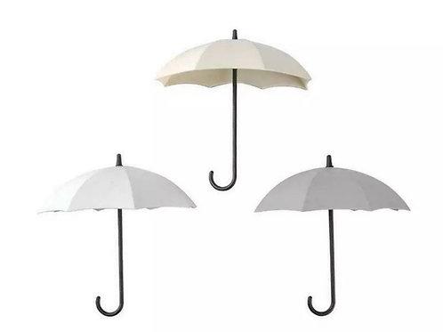 Umbrella Hooks in Grey, White & Cream