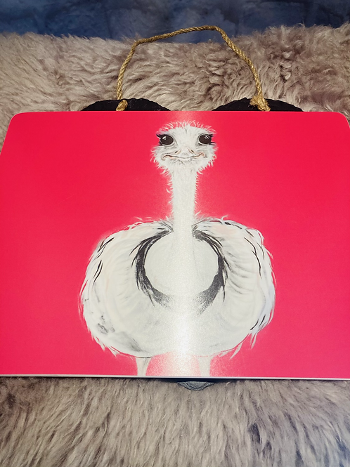 Camilla the Ostrich Placemat