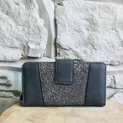 Grey Glitter Purse/Wallet