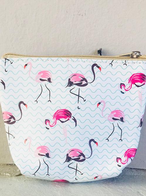 Wading Flamingos Coin Purse