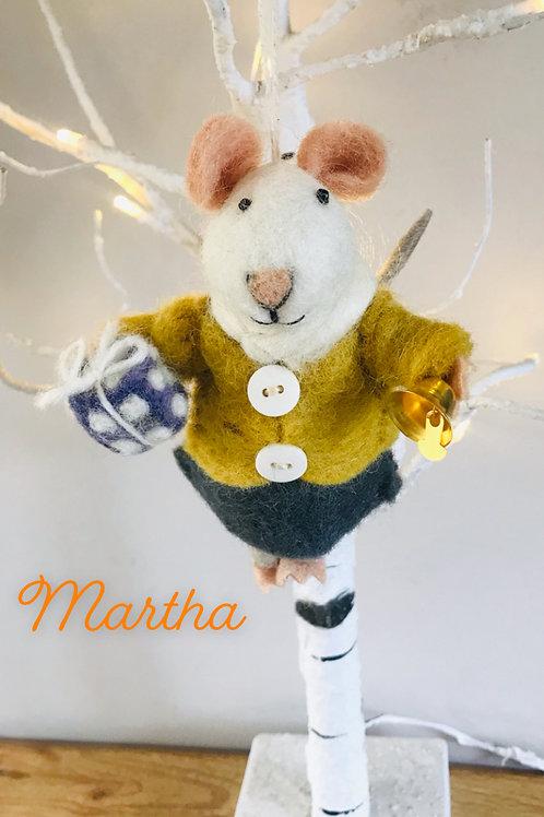 'Martha' Felt Mouse