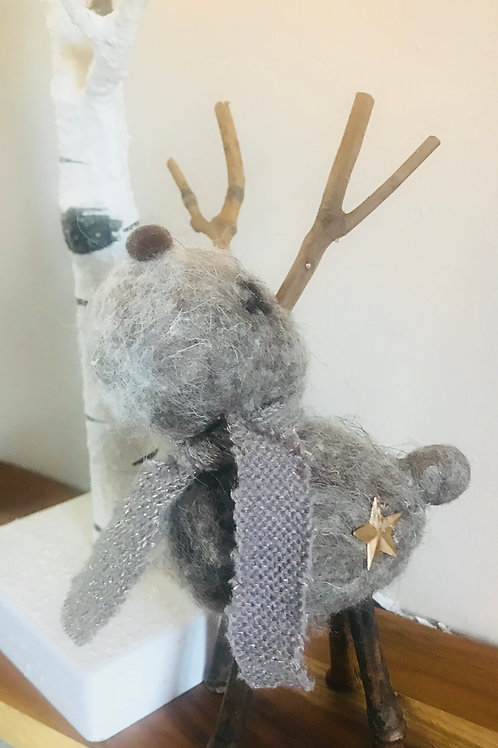 'Rufus' Woolly Reindeer