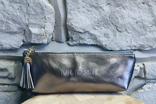 """Time To Shine"" - Make Up Pouch"