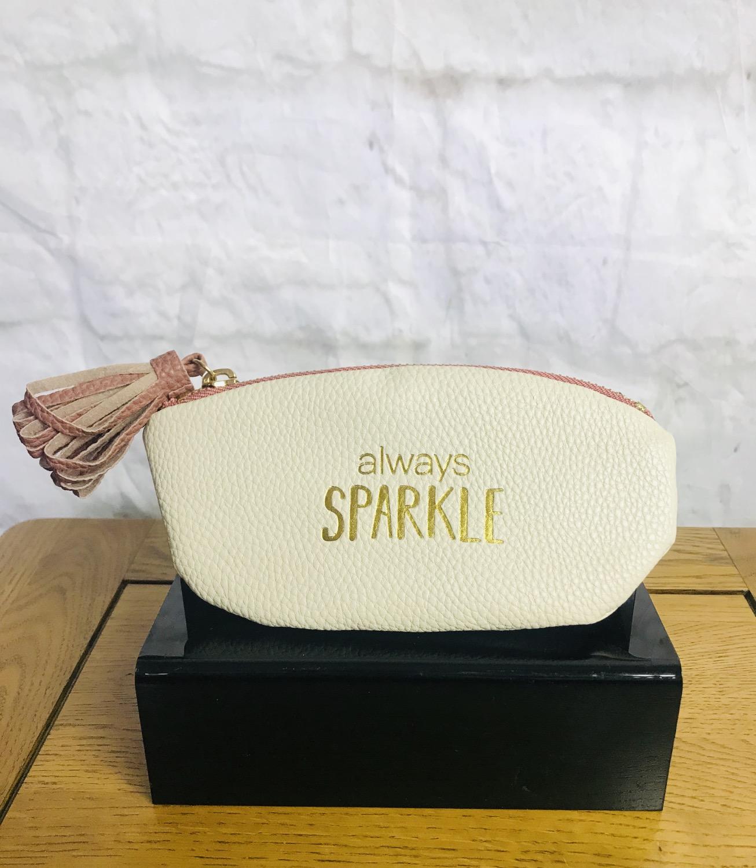 'Always Sparkle' Pouch