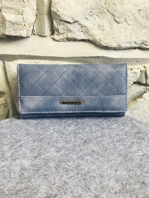 Grey Lattice Wallet