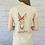 Thumbnail: 'Sassy Ass!' Deedee Donkey T-Shirt in Beige