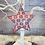 Thumbnail: Nordic Snowflake Pattern Metal Star