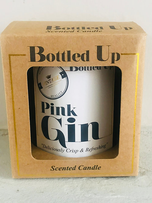 Pink Gin Large Candle