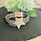Thumbnail: Star Pendant Leather Bracelet