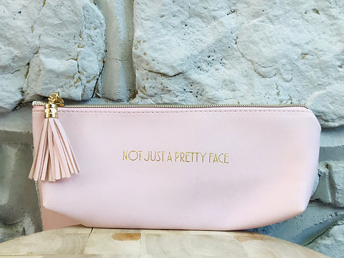 'Not Just A Pretty Face' Make Up Pouch