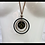 Thumbnail: Star Circle Pendant Necklace