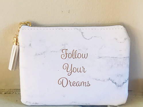 'Follow Your Dreams'Large Coin Purse