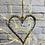 Thumbnail: Hanging Metal Heart - 10cm