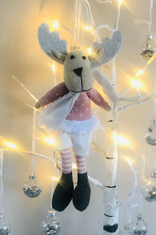 Fabric Reindeer in Shorts