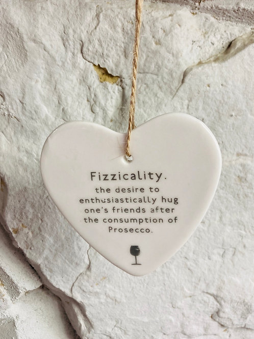 Fizzicality Hanging Heart