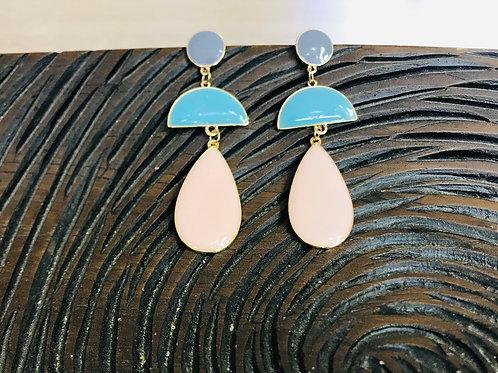 Raindrop Geo Earrings