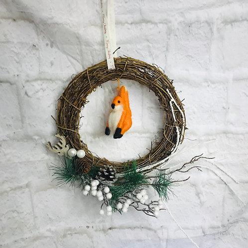 Cute Fox Wreath