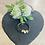 Thumbnail: Trio of Hearts Leather Bracelet