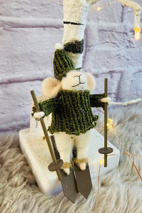 'Mariah' Skiing Mouse
