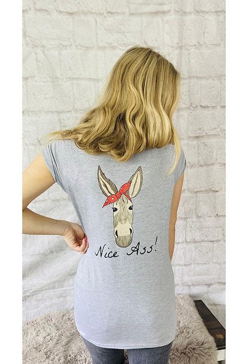 'Nice Ass!' Deedee Donkey T-Shirt