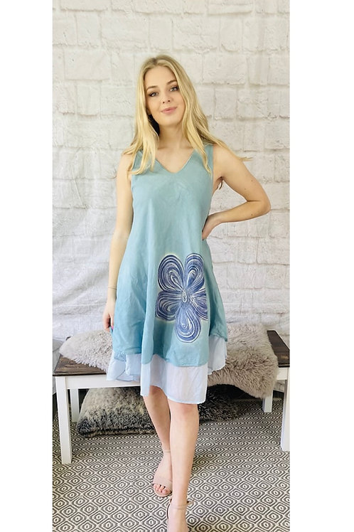 Flowing Layered Dress