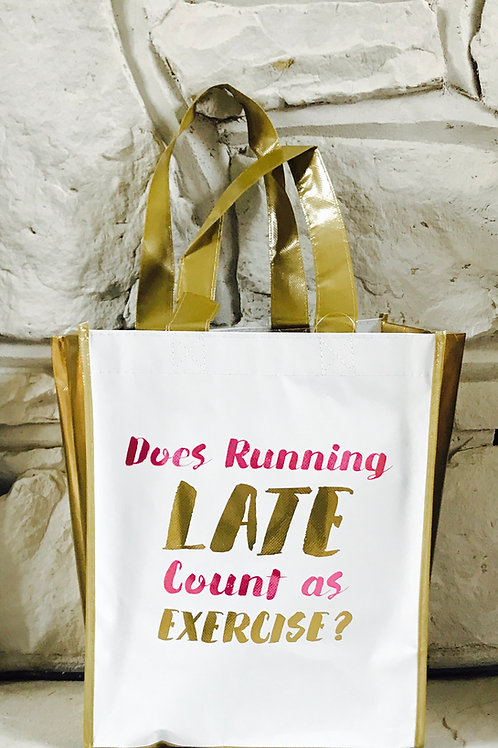 """""""Running Late"""" - Shopper"""