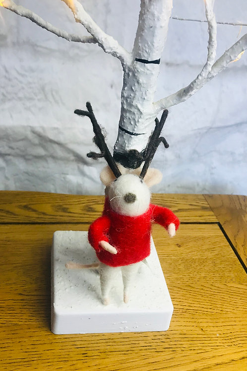 'Mario' - Mouse with Antlers