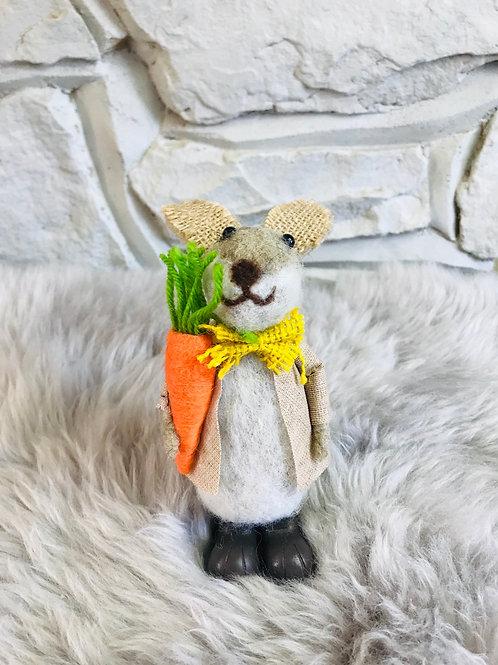 'Bobby' - Woollen Bunny