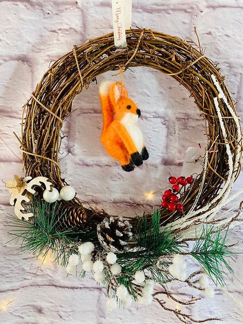 Fox Wreath