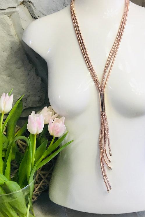 3 Row Sparkle Necklace