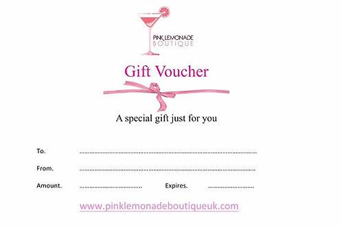 PLB £5  Gift Voucher