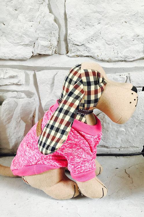 Hot Pink Dog Jumper -xs