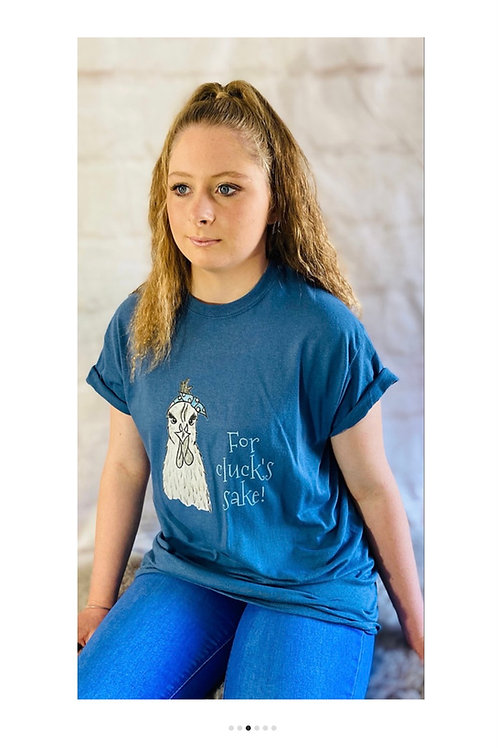 'For cluck's sake!' Chi Chi Chicken T-Shirt