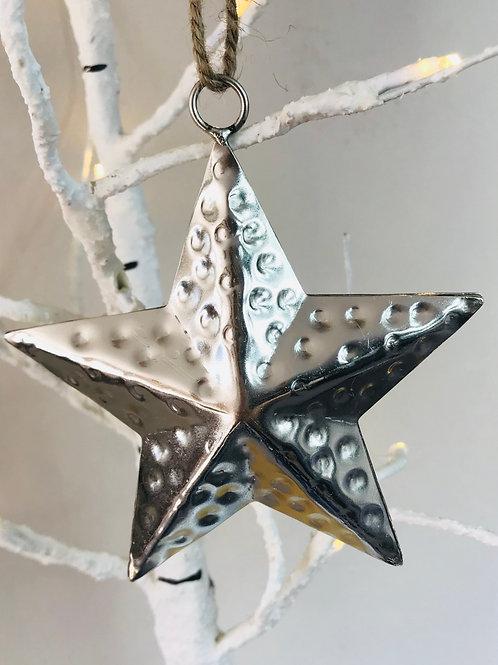 Silver Iron Star