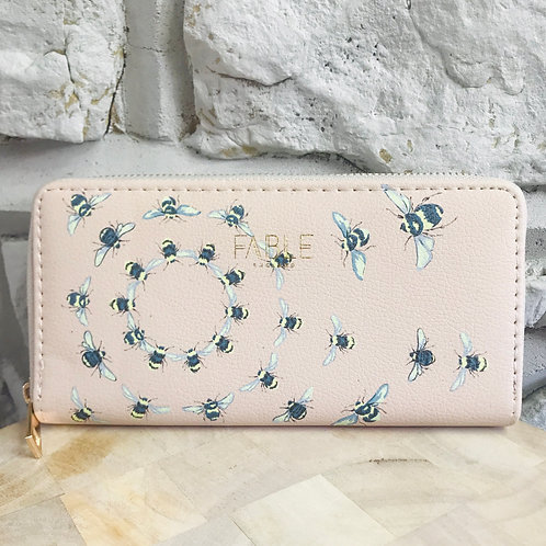 Long Vintage Bee Purse/Wallet