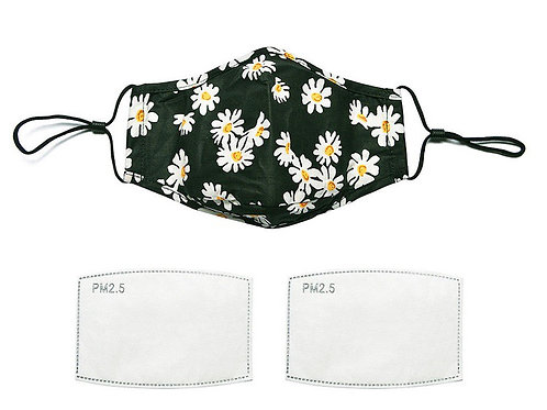 Daisies Reuseable Face Mask