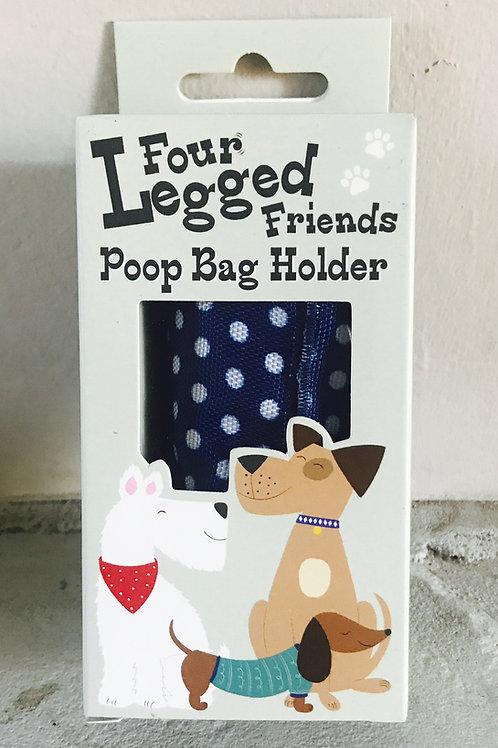 Polka Dot Poop Bag Holder