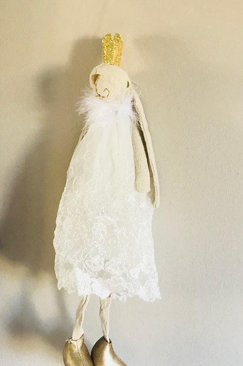 White Ballerina Bunny