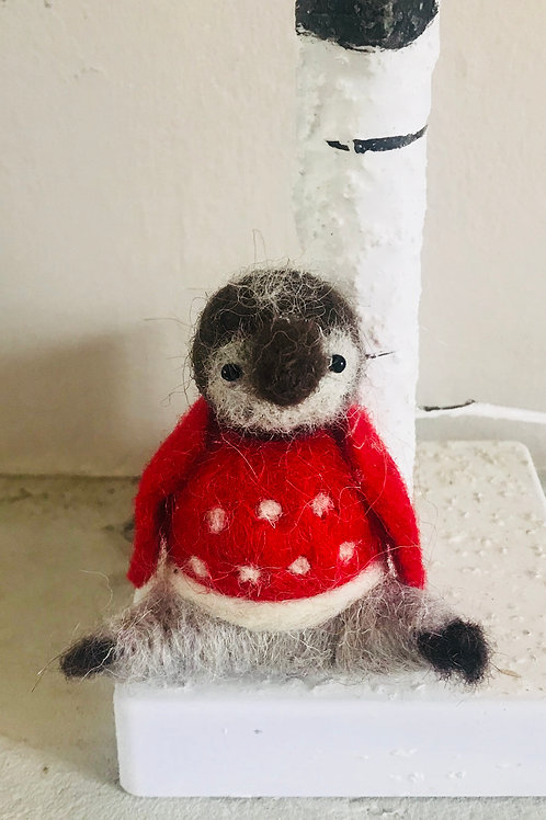'Paddy' - Penguin in Red Jumper