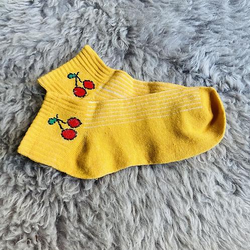 Cherries Ankle Socks