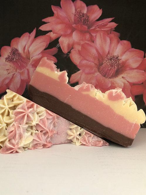 Cactus Flower Cake or Bar