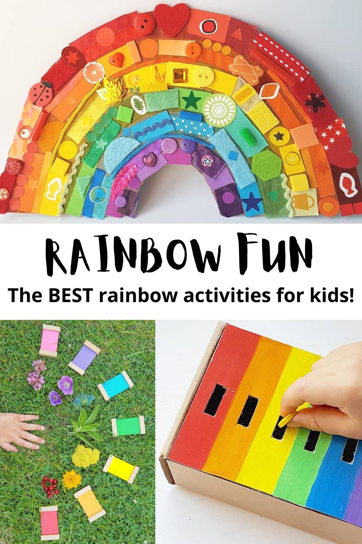 fun rainbow activities for kids