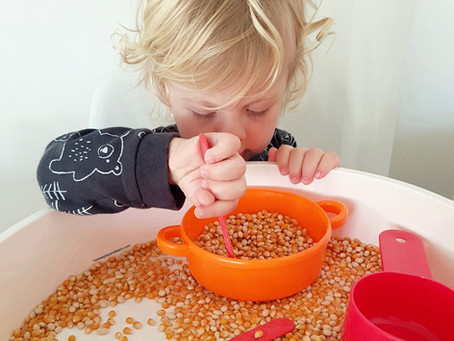 How to create a sensory bin