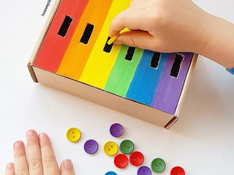 Our favourite rainbow activities