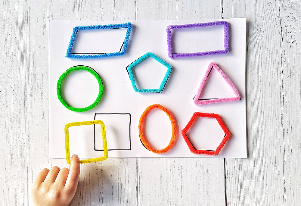 pipecleaner lines, 12 puzzles to DIY