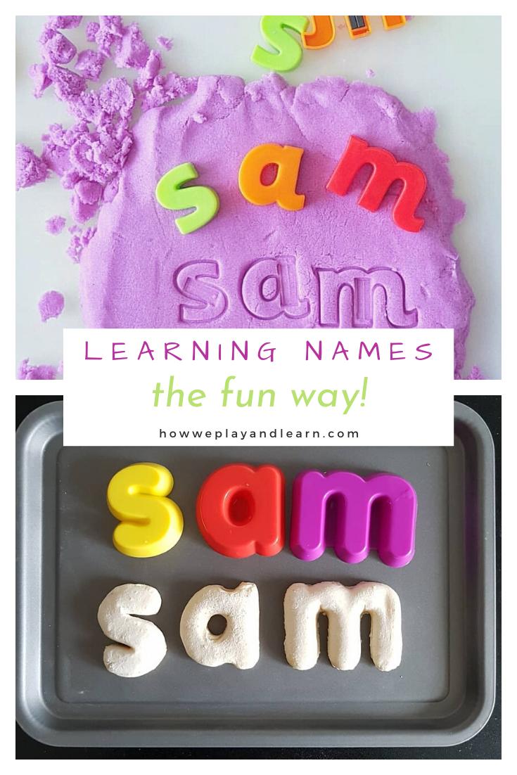 fun ways to learn names